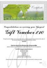 Holmfirth Vineyard Gift Voucher