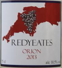 Redyeates Orion 2013