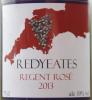 Redyeates Regent Rosé 2013